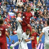 Ronaldo leads Portugal to easy win over New Zealand