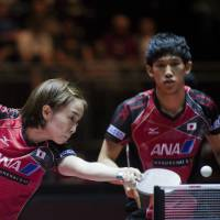 Japan captures first world championship in mixed doubles in 48 years