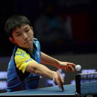 Harimoto striving to boost ranking after sensational debut