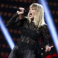 Taylor Swift performs at the DIRECTV NOW Super Saturday Night Concert in Houston, Texas, on Feb. 4. | JOHN SALANGSANG / INVISION / AP
