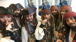 'pirates of the caribbean' sets sail to japan