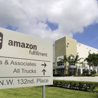 Amazon looks to hire 50,000 in job-fair day at its warehouses