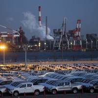 The European Union is likely to scrap its 10 percent tariff on passenger cars made in Japan over seven years. | BLOOMBERG