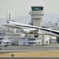 Mitsubishi Aircraft Corp. is taking a severe hit from surging costs caused by delays in the Mitsubishi Regional Jet project. | KYODO