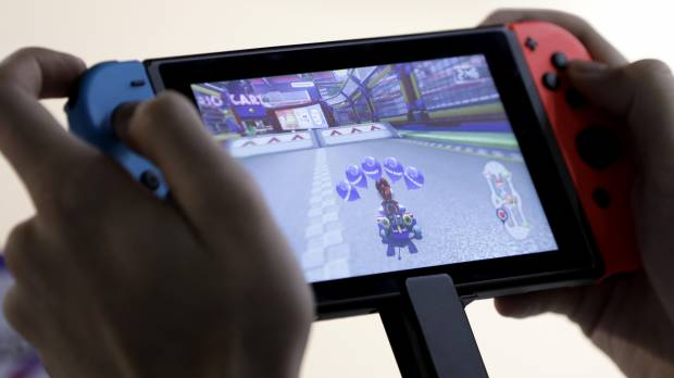 With Switch, Nintendo seen enticing players to use just one device