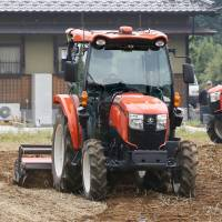 Self-driving tractors soon to make tracks in Japan as aging farmers face labor shortage