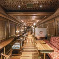 The interior of the Royal Express was designed by Eiji Mitooka, who also designed the famed Seven Stars luxury express operated by JR Kyushu.   DON DESIGN ASSOCIATES / VIA KYODO