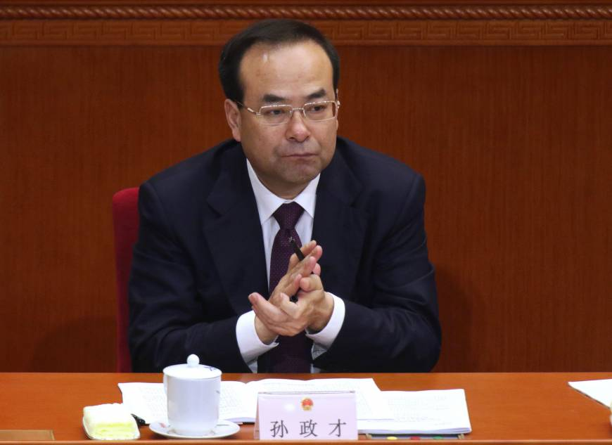 Former Chongqing party chief and Chinese Politburo member under probe, report says