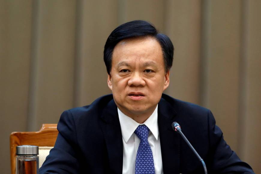 Chen Miner, a rising star in Chinese politics, appointed ...