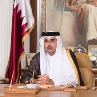 Qatar's ruler voices willingness to talk to solve Arab rift
