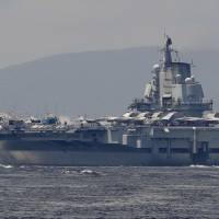 Taiwan says Chinese aircraft carrier sails into its ADIZ