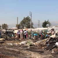 Another Syrian refugee camp in Lebanon has deadly fire