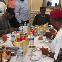 Proof of life: Ailing Nigerian President Buhari appears in rare photo