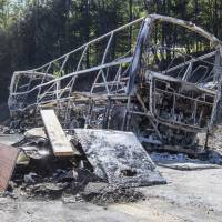18 confirmed killed when bus carrying seniors rear-ends truck in Bavaria, bursts into flames