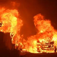 Northern California besieged again, this time by wildfires