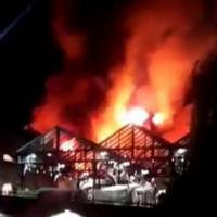 Fire in London's Camden Market brought under control