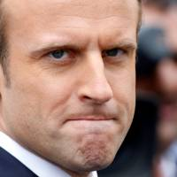 Macron's popularity rating drops 10 percentage points in month
