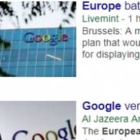 Europe battles Google News over taxing snippets of articles