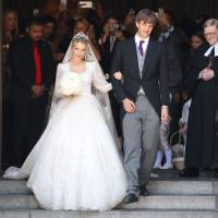 Germany celebrates royal wedding despite groom's father's disapproval