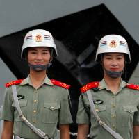 Hello Hong Kong: China's army turns on charm with weekend shows