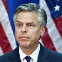 As Russia controversy grows, Trump taps veteran diplomat Huntsman for Moscow post