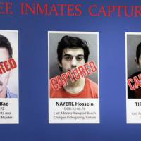 California inmate trio take cellphone video of escape, time on the loose