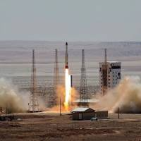 Iran claims success in launch of satellite-carrying rocket into space