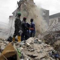 At least eight dead in collapse of residential building in Lagos