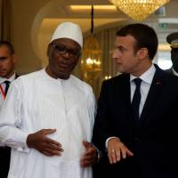 Macron in Mali on diplomatic push to create Sahel force against Muslim extremist threat