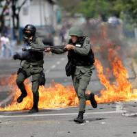 Maduro bans protests ahead of contentious vote for Constituent Assembly as death toll reaches 106