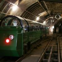 Mail Rail attraction takes tourists deep under London to secret postal train system dating to 1927