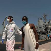Italy urges EU ports to take migrants as influx soars but NGO boats cool to comply