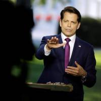 White House intrigue deepens as Scaramucci effectively accuses Priebus of leaking publicly available data