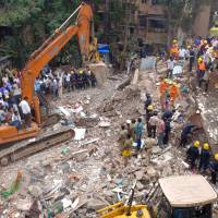 At least 12 killed, dozen missing as five-floor building in Mumbai collapses