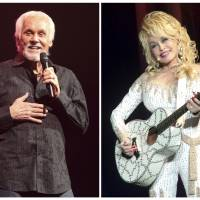 In this combination photo, Kenny Rogers performs in 2013 in Lancaster, Pennsylvania. and Dolly Parton performs in Philadelphia in 2016. The pair, who spawned hit duets like 'Islands in the Stream' and 'Real Love,' announced they will be making their final performance together this year. Rogers, who is retiring from touring, announced on Tuesday that his final performance with Parton will be part of an all-star farewell show to be held at Nashville's Bridgestone Arena on Oct. 25. | PHOTOS BY OWEN SWEENEY / INVISION / VIS AP, FILE