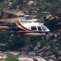 Arizona hikers clung to trees and cliffs before chopper rescue from flooded canyon