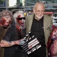 George Romero, father of the zombie film, with added social commentary, dies at 77