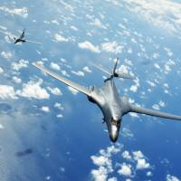 U.S. bombers challenge Beijing with South China Sea flyover