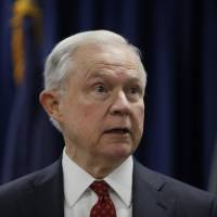 Trump fires more Twitter salvos at 'beleaguered' Sessions, asks why he isn't probing Clinton's Russia ties