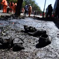 Taliban claims it was behind deadly suicide attack  in Kabul that killed 24