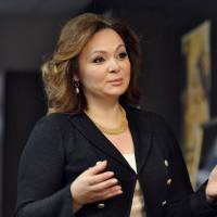 Russian lawyer Natalia Veselnitskaya speaks during an interview in Moscow in November. | REUTERS