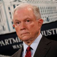 Trump speaks to advisers about firing 'beleaguered' Sessions