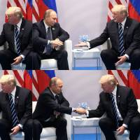 Trump, Putin have 'robust' first encounter at G-20 summit in Germany