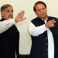 Ousted Pakistani leader Sharif names brother Shahbaz as successor