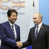 Abe, Putin to step up talks on joint economic activities on disputed Russian-held isles