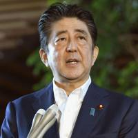 Abe, Trump agree to take more action against North Korea