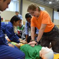 Minato Ward hosts first disaster seminar for foreign residents
