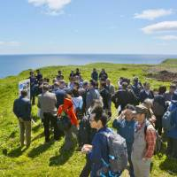 Economic study group wraps up first tour of disputed isles off Hokkaido