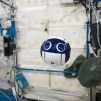 JAXA tests grapefruit-sized video drone aboard ISS