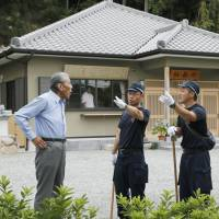 Kobe man is handed fresh arrest warrant for allegedly murdering his grandfather